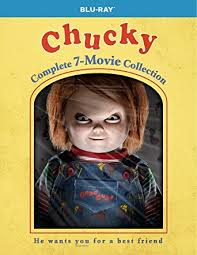 amazon com chucky complete 7 movie collection blu ray