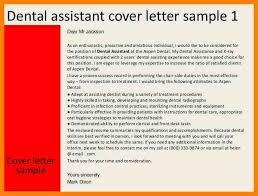 dental assistant cover letter best healthcare cover letter