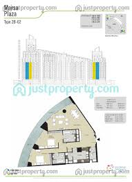 Burj Al Arab Floor Plans Marsa Plaza 2br Floor Plans Justproperty Com
