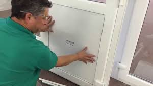 french door glass insert replacement how to replace a pvc door panel youtube