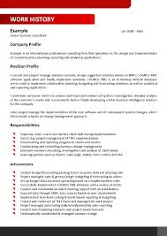 Qa Sample Resume 124 Resume Writing