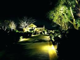 Led Landscaping Lighting Low Voltage Landscape Lights Flickering Led Landscape Light Image