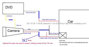 how to install a new rear view camera on car oem navigation