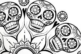 sugar skull coloring pages skull coloring pages coloring ideas