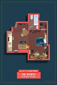 Tv Show House Floor Plans by 28 Best Mr Robot Elliot Alderson Images On Pinterest Robots