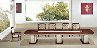 Wooden Boardroom Table Wooden Rectangle Boardroom Table View Meeting Table Flyfashion