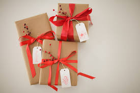 gift wrapping ribbon gift wrapping with kraft paper the graceful dwelling