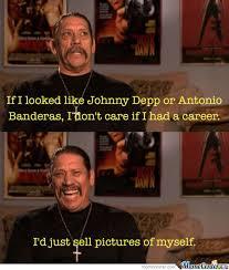 Banderas Meme - danny trejo machete talks about johnny depp and antonio banderas