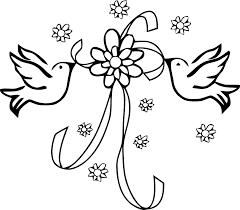 dessin mariage coloriage mariage les beaux dessins de fêtes à imprimer et
