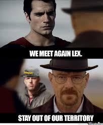 Bryan Cranston Memes - bryan cranston cast as lex luthor by recyclebin meme center