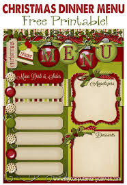 christmas planner template my computer is my canvas freebie christmas day menu planner freebie christmas day menu planner