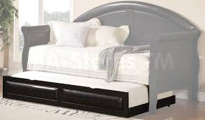 Upholstered Daybed With Trundle Daybeds Fabulous Leatherette Upholstered Daybeds With Trundle