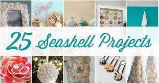25 stunning seashell projects u0026 beautiful diy seashell crafts