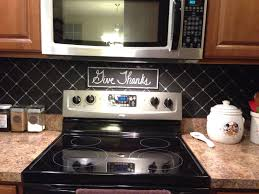 kitchen backsplash diy my diy chalkboard backsplash schery u0027s home improvements