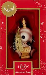 amazon com lenox snoopy u0027s list for santa ornament home u0026 kitchen