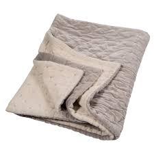 velvet linen quilt oyster u0026 natural linen by niki jones for niki jones
