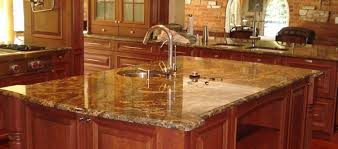 diy project installing granite countertops in the kitchen