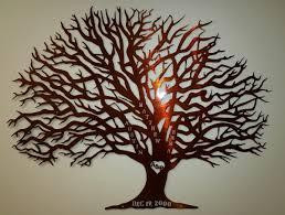 anniversary tree with names custom metal work alabama metal
