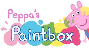peppa pig paintbox ios ipad app game play review kids