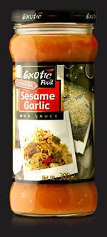 cuisiner wok sesame garlic wok