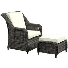 Outdoor Comfortable Chairs Furniture Interesting Wicker Chair Cushions For Inspiring Outdoor