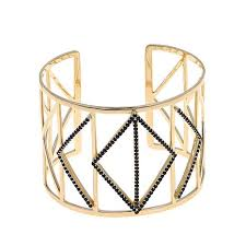 cuff bracelet from images Colleen lopez wonder woman 3 1ct gemstone geometric goldtone cuff jpg