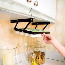 Coffee Mug Holder Wall Mount Amazon Com Coffee Keepers Under Cabinet K Cup Holder