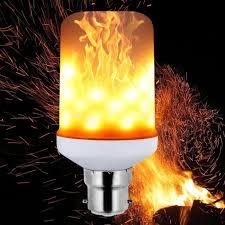 Flickering Light Bulb Halloween B22 Flame Flickering Breathing General Modes Halloween Decoration