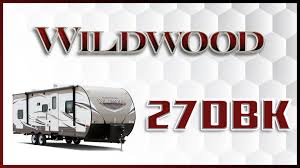 forest river wildwood 27dbk travel trailer for sale