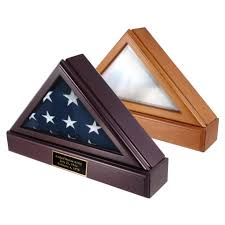 Triangle College Flags Officers Flag Display Case U0026 Pedestal U S Flag Store