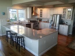 kitchen with island and peninsula kitchen island peninsula design kitchen island