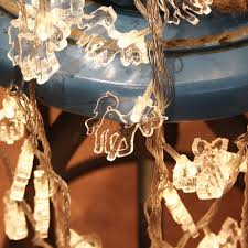 christmas garland battery operated led lights 50led fairy animal transparent horse l battery operated string
