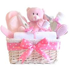 Baby Shower Baskets Angel Deluxe Baby Gift Hamper Baby Gift Basket Baby
