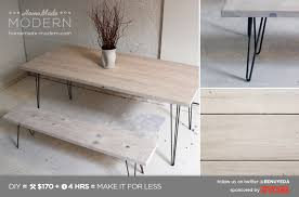 hair pin legs modern ep3 1 white washed 2x12 table with hairpin legs