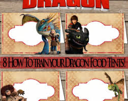 train dragon 2 birthday food cards dragons 2 food