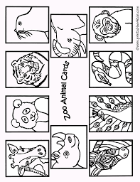 zoo animal coloring pages for preschool eson me