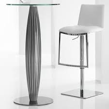 Glass Bar Table And Stools Modern Glass Bar Tables Sets Allmodern