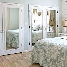 Mirrored Bifold Doors For Closets Mirrored Closet Door Closet Door With Mirror Used Mirrored Closet