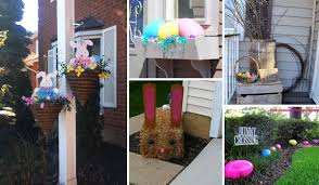 Top 22 Cutest DIY Easter Decorating Ideas for Front Yard – Orange