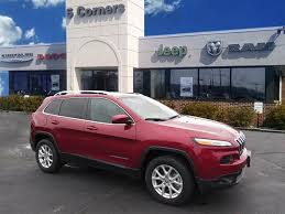 maroon jeep 2017 2016 jeep cherokee for sale autolist
