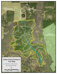 Map Jacksonville Florida by Cedar Point Preserve Timucuan Parks Foundation