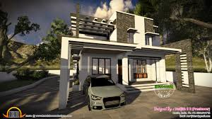 Contemporary House Design by July 2015 Kerala Home Design And Floor Plans