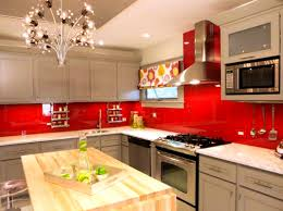 accessories wonderful awesome red kitchen design ideas black