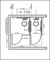 Ada Bathroom Code Requirements Ada Bathroom Dimensions And Guidelines For Accessible And