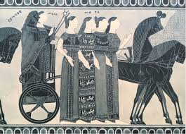 Francois Vase On Weaving And Sewing As Technical Terms For Ancient Greek Verbal