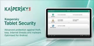 kespersky apk kaspersky tablet security for android tablets review system