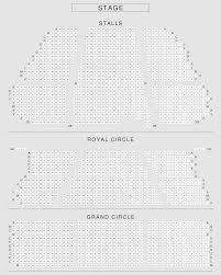 royal circle lyceum theatre seating plan london seatplan
