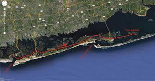 Long Island On Map Long Island Kayak Circumnavigation Day 2 U2014jones Inlet To The Fire