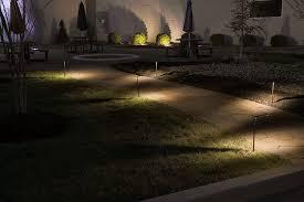 landscape led path lights w offset linear light 3 watt