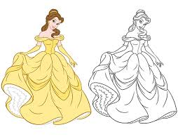 disney consumer products princess style guide art on behance